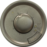 067989 - Лицевая панель для термостата с датчиком для теплого пола, Легранд Селиан (графит)
