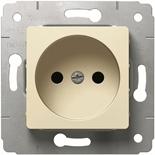 773716 - Розетка электрическая без заземления 2К, 16A, Legrand Cariva (слоновая кость)
