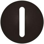 065201 - Лицевая панель для выключателя/переключателя с тонкой клавишей, Легран Селиан (графит)