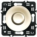 066208 + 067035 + 080251 - Выключатель кнопочный Легранд Селиан на 2 направления 6А (слоновая кость)