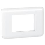 078803 - Рамка Legrand Mosaic, 3-модульная (белая)