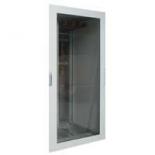 020567 - Реверсивная дверь остекленная выгнутая - XL³ 4000 для щитка Legrand (ширина 975 мм.)