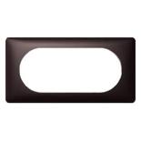 068935 - Рамка 4/5 модулей Legrand Celiane, 161×82мм (графит)