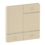 754728 - Лицевая панель для радиоприемного выключателя,для приводов жалюзи/рольставней Legrand Valena Life (слоновая кость)