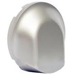 068441 - Лицевая панель для вывода кабеля,  Legrand Celiane (титан)