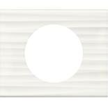 069011 - Рамка однопостовая Legrand Celiane, прямоугольная, 100х83мм, Corian® (белый рельеф)