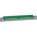 004837 - Клеммник 1х6-25мм²+26х1.5-16мм², Legrand (зеленый)