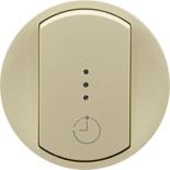 066253 - Лицевая панель для выключателя с выдержкой времени, Legrand Celiane (слоновая кость)