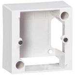 055439 - Монтажная коробка накладная, 1-постовая, 82х82х40мм, для силовых розеток 20/32А, Legrand