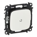 752007 + 665090 + 755085 - Переключатель перекрестный с подсветкой, автоматические клеммы Legrand Valena Allure (белый)