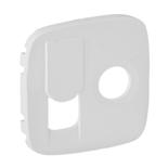754835 - Лицевая панель для TV-RJ45 розетки Legrand Valena Allure (белая)