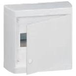 601235 - Щиток распределительный навесной, 1 рейка, 8М, Legrand Nedbox (белый)