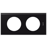 069152 - Рамка 2-постовая Legrand Celiane, прямоугольная, 170х82мм, Corian® (Nocturne)