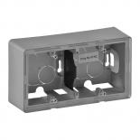 754212 - Коробка для накладного монтажа, однопостовая, Legrand Valena Life (алюминий)