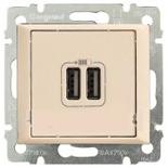 774170 - Розетка USB двойная, Легранд Валена (Слоновая кость)