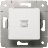 773613 - Кнопка с подсветкой 10A, Legrand Cariva (белая)