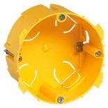 089358 - Коробка монтажная встраиваемая, 1-постовая, 50мм, для сухих перегородок (под розетки на 20А и 32А)