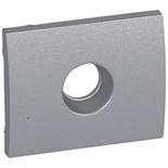 771366 - Лицевая панель для простой TV-розетки Legrand Galea Life, алюминий