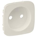 754976 - Лицевая панель для силовой розетки 2К Легранд Валена Аллюр (слоновая кость)