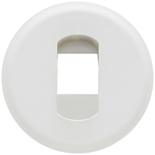 068211 - Лицевая панель для розетки акустической, Легранд Селян (белая)