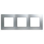 672553 - Рамка 3-х постовая Legrand Etika (алюминий)