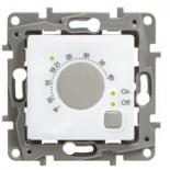 672230 - Терморегулятор для теплых полов, с внешним датчиком, Legrand Etika (белый)