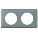 068742 - Рамка 2-постовая Legrand Celiane, 161×82мм, пластик (грей)