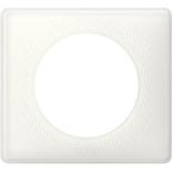 066640 - Рамка однопостовая Legrand Celiane, прямоугольная, 90х82мм (белый муар)