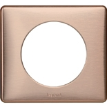 068991 - Рамка однопостовая Legrand Celiane, прямоугольная, 90х82мм (медь)