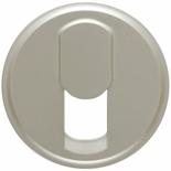 068537 - Лицевая панель для розетки телефонной, Легран Селян (титан)