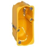 080040 - Монтажная коробка встраиваемая, 1-постовая, 40мм, d=32мм, для сухих перегородок, Legrand Batibox