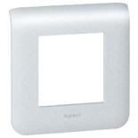 079002 - Рамка Legrand Mosaic, 2-модульная (алюминий)