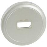 068516 - Лицевая панель для розетки аудио/видео HDMI, Legrand Celiane (титан)