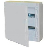 401647 - Щиток электрический навесной, 2 рейки, 36М, 90А, Legrand XL3 125 (белая дверь)