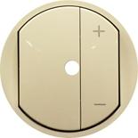 066265 - Лицевая панель светорегулятора (диммера) с подсветкой, Legrand Celiane, слоновая кость