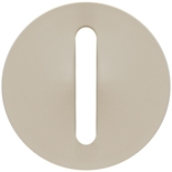 066297 - Лицевая панель для выключателя/переключателя с тонкой клавишей, Легран Селян (слоновая кость)