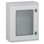 036271 - Щит Legrand Marina из полиэстра с остеклённой дверцей, вертикальный, IP66 IK10, белый (400x300x206мм)