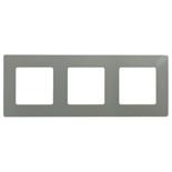 672523 - Рамка 3-х постовая Legrand Etika (светлая галька)
