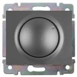 771268 + 775654 - Светорегулятор (диммер) поворотный, 400 Вт, Legrand Galea Life (темная бронза)