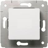 773656 - Выключатель 10A, простой, Legrand Cariva (белый)