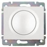 771068 + 775654 - Светорегулятор (диммер) поворотный, 400 Вт, Legrand Galea Life (белый)