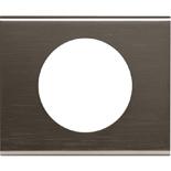 069031 - Рамка однопостовая Legrand Celiane, прямоугольная, 100х83мм, металл (чёрный никель)