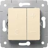 773715 - Светорегулятор 40-600Вт, Legrand Cariva (слоновая кость)