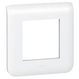078802 - Рамка Legrand Mosaic, 2-модульная (белая)