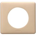 068661 - Рамка однопостовая Legrand Celiane, 90×82мм, пластик (имбирь)