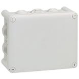 092042 - Коробка распределительная IP55 (влагозащищённая) прямоугольная, 155х110х74 мм, 10 кабельных вводов,  Legrand Plexo