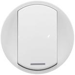 068014 - Лицевые панели для выключателя, Legrand Celiane (белая)