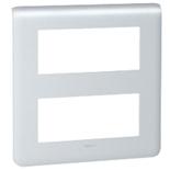 079030 - Рамка Legrand Mosaic, 2-секционная, 10-модульная (алюминий)