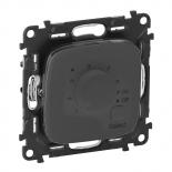 752034 + 755328 - Терморегулятор теплого пола Legrand Valena Allure с датчиком (антрацит)