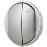 065183 - Лицевая панель для светорегулятора, Легранд Селян (титан)